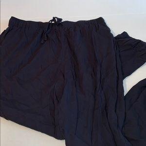 Pants - UniQlo Jogger Style Pants Navy Sz M